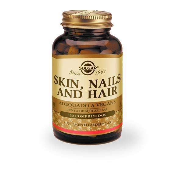 Skin nails & hair