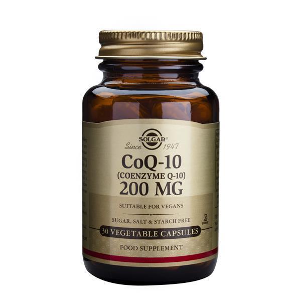 SOLGAR COQ-10 COENZYME Q-10 200MG 30VCAP