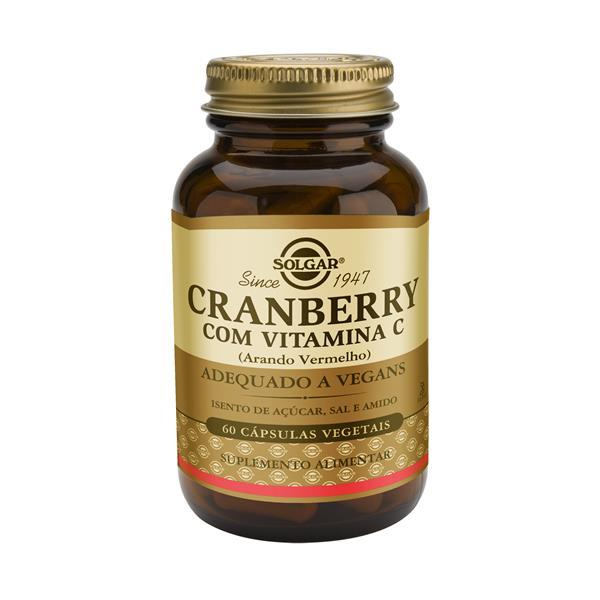 Solgar Cranberry com vitamina c