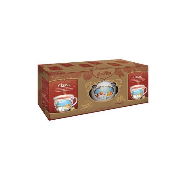 YOGI TEA BIO CLASSIC CANELA (2) + CANECA