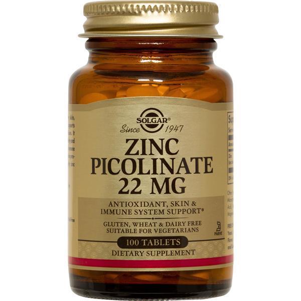 SOLGAR Picolinato de zinco
