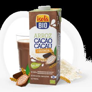 Bebida Arroz Cacau e Quinoa Isola Bio 1L