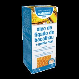 Óleo de Fígado de Bacalhau + Geleia Real Plus Sab. Laranja