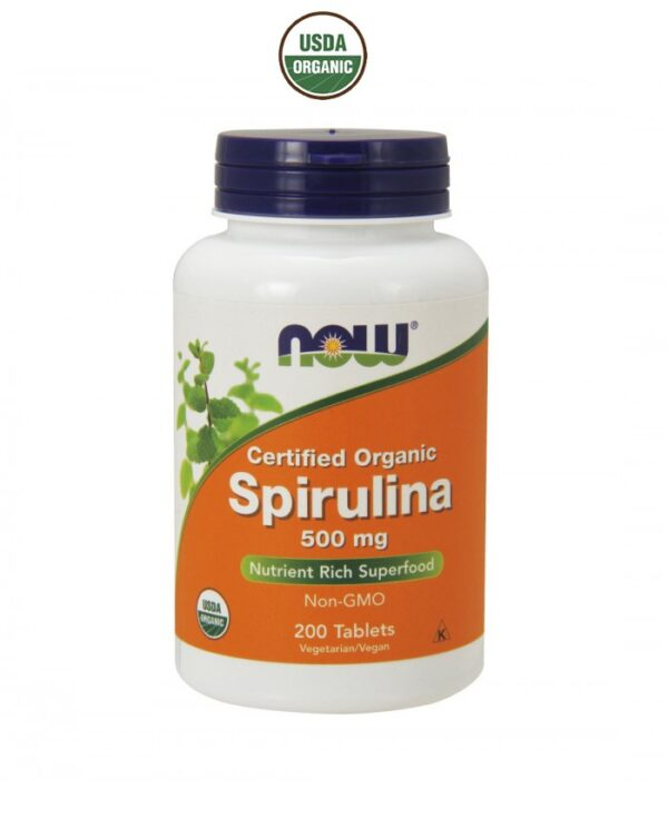 NOW - Spirulina 500mg