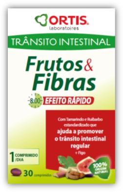 FRUTOS E FIBRAS EFEITO RAPIDO 30 COMP