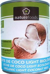 NATUREFOODS LEITE COCO BIO LIGHT 400ML