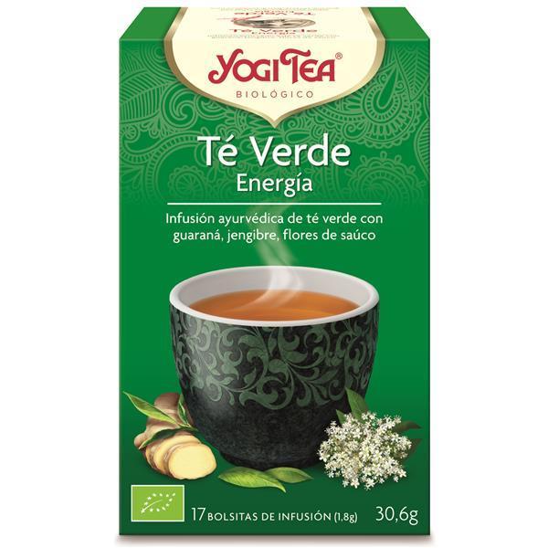YOGI TEA - Infusão bio chá verde energia