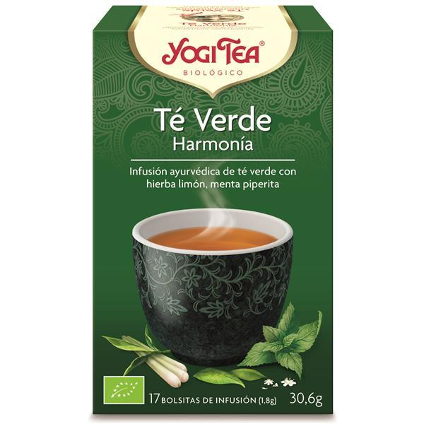 YOGI TEA - Infusão bio chá verde harmonia