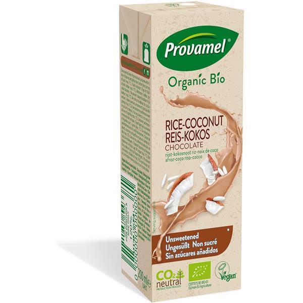 Bebida bio arroz coco choco