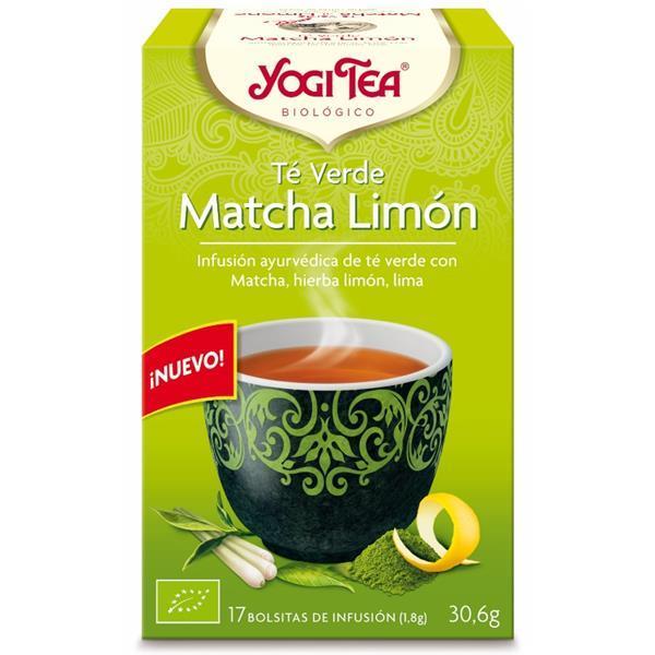 YOGI TEA - Chá verde matcha limão bio