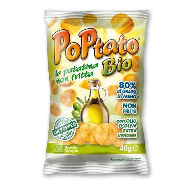 PoPtato Bio olio d'oliva extra vergine