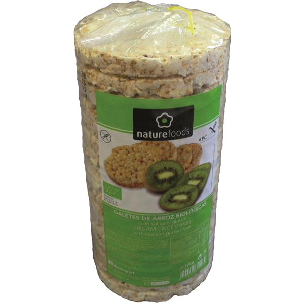 NatureFoods - Galetes arroz com sal bio