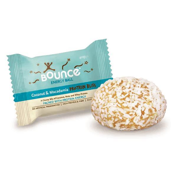 BOUNCE - ENERGY BALL COCO+MACADAMIA 40gr