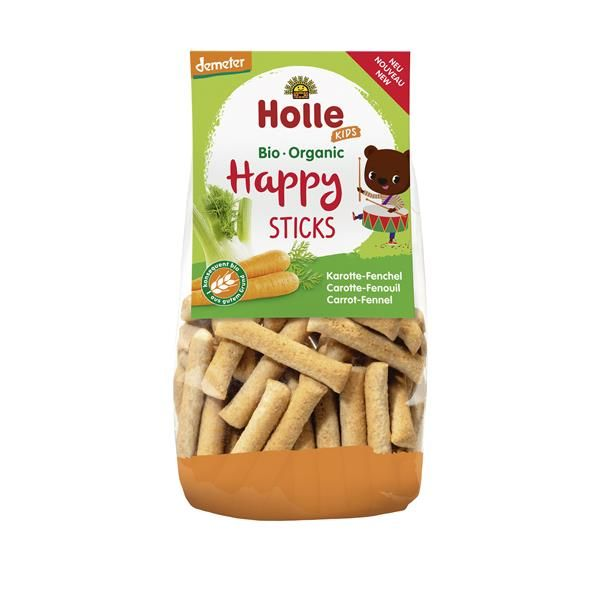 HAPPY STICKS CENOURA FUNCHO 100gr HOLLE BIO