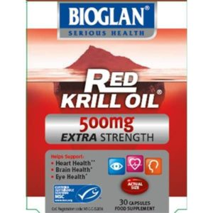 BIOGLAN RED KRILL OIL EXTRA 500MG 30 CAP
