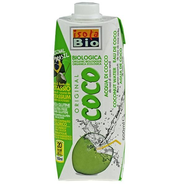 AGUA DE COCO VERDE ISOLDA BIO (BRASIL) 500ml