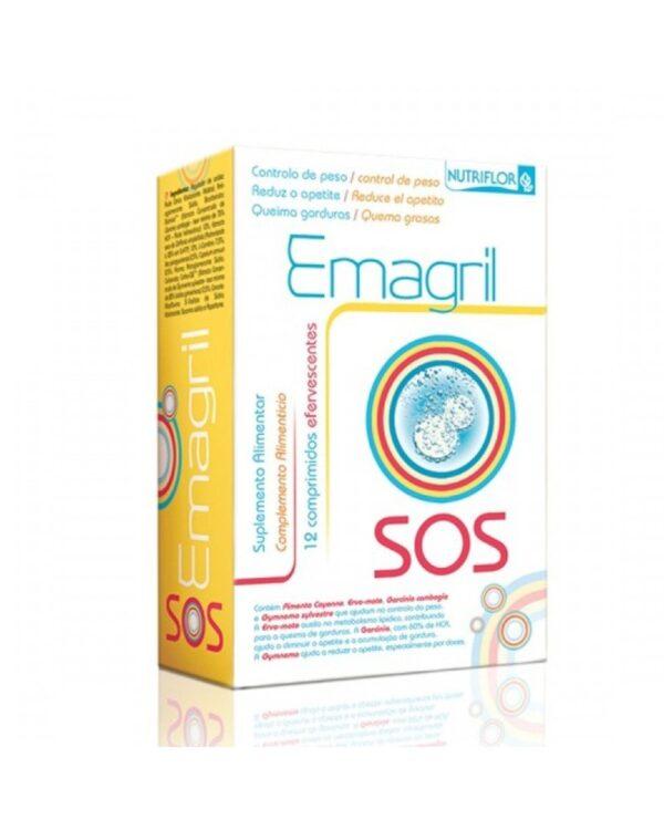 Emagril - SOS 12 Pastilhas Efervescentes