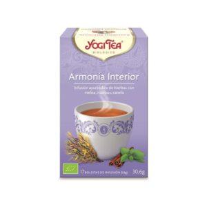 Yogi Tea Bio Harmonia Interior 17 Saq.