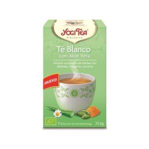 Yogi Tea Bio Chá Branco e Aloé Vera 17saq.