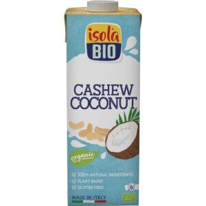 Bebida de Caju e Coco Isola Bio 1L