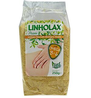 Linholax Sementes Linhaça Dourada Moidas BIO 250g - Provida