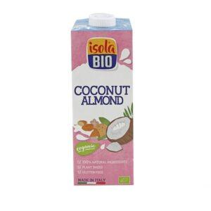 Bebida Coco com Amêndoa Isola Bio 1L