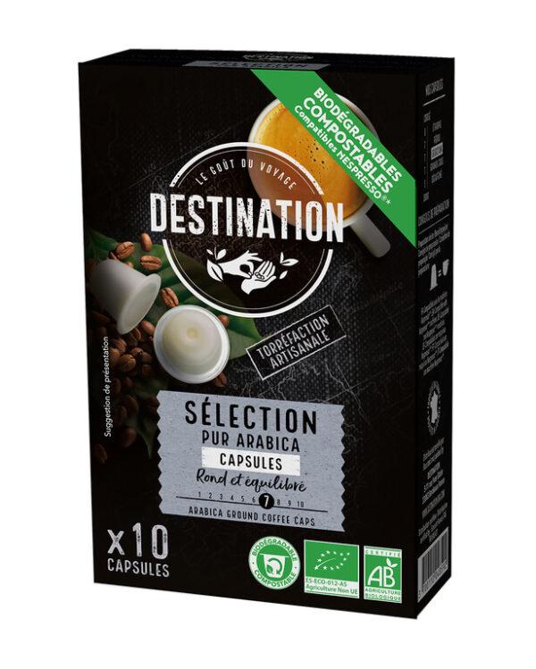 Café Seleção-Puro Arábica cápsulas BIO - Destination