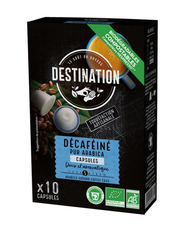 Café Descafeinado Puro Arabico - Destination