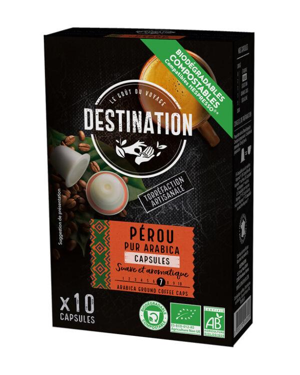 Café Peru- Puro Arábica cápsulas BIO - Destination