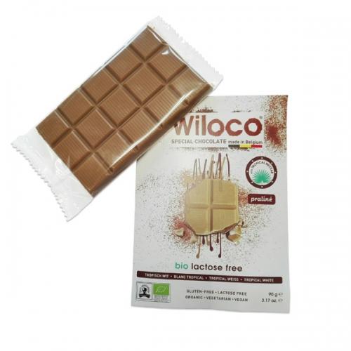 Wiloco Envelope Tropical Branco Praliné Bio