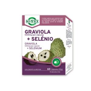 Graviola 1000mg + Selénio